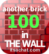 Another brick in the wall x 100