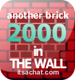 Another brick in the wall x 2000