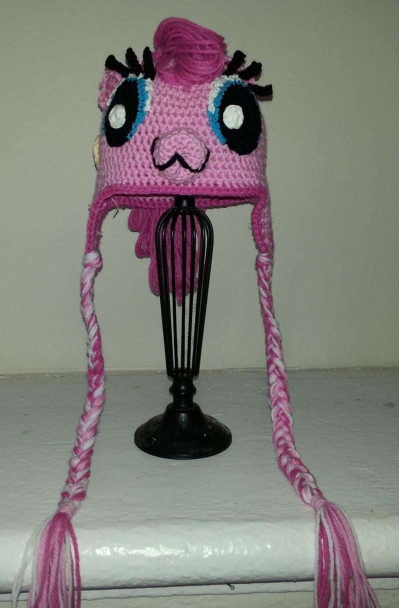 My Little Pony Pinky Pie Crochet Hat Lanfearinc Itsachat